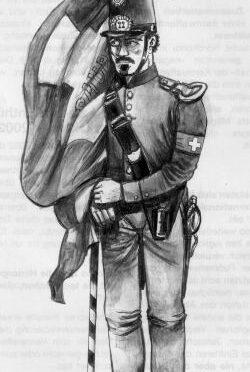 Bündner Fähnrich 1852