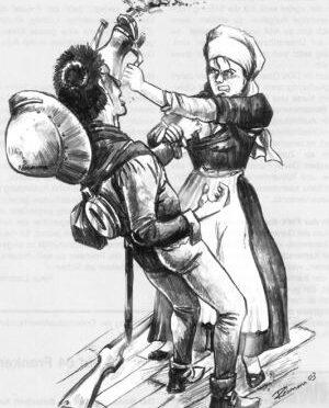 Eidgenössischer Büchsenschütze 1476