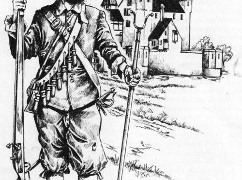 Musketier um 1636