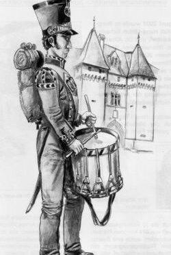 Neuenburger Tambour 1844