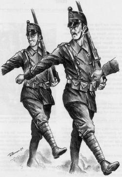 Solothurner Füsiliere 1916