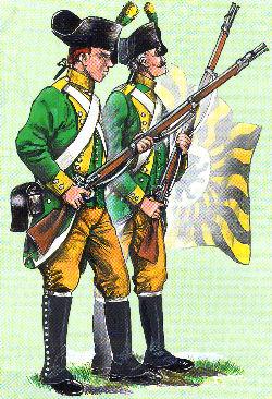 Jäger der Fürstabtei St. Gallen 1792